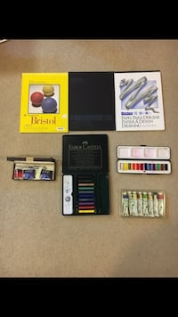 Art Supplies ($50 FOR ALL ITEMS!!!)