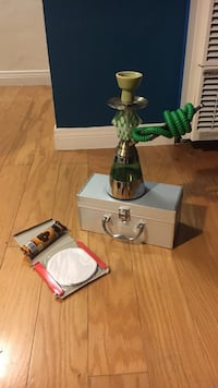 Single hookah with coals and foil San Diego, 92107