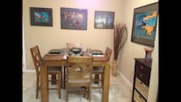 Wood Dining Room Table and 4 Chairs Sevierville, 37876