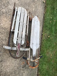 Pair of Vintage flyer sleds Cinnaminson, 08077