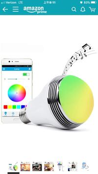 LED Light Bulb with Smart speaker 兰丘库卡蒙卡, 91737
