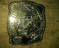 Silver belt buckle Rodeo  Oklahoma City, 73106