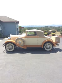 Plymouth - pb convertible coupe - 1932 Rohnert Park, 94928