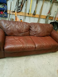 leather couch. With matching chair and ottoma Churubusco, 46723