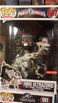 dino ultrazord funko pop Colton, 92324