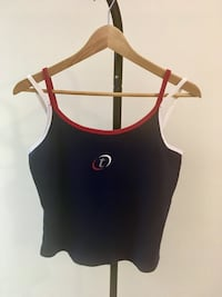 TOMMY HILFIGER CROPPED TANK TOP WOMENS SIZE LARGE CLOTHING Edmonton, T6J
