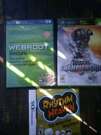 three assorted Xbox 360 game cases Santa Ana, 92704