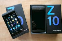 in excellent condition unlocked blackberry Z10 Edmonton