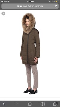 Brand new Soia & Kyo Ladies Coat SM Aurora, L4G 3X1