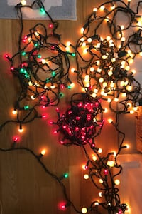 Decorative String Lights! 4 separate strings. $5 each, $20 total