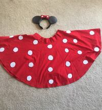 Mini mouse skirt with hair band  Burnaby, V5H