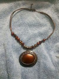 brown and black beaded necklace Newmarket, L3X 2P2