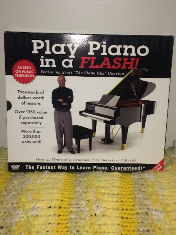 Play Piano in a Flash! book
