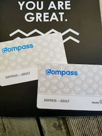 Compass card  Vancouver, V5W 1T6