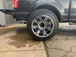 Wheel and tires