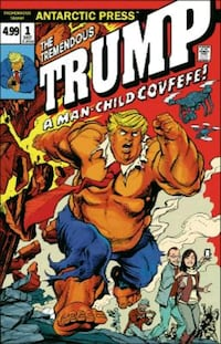 Donald Trump comic book Las Vegas, 89102