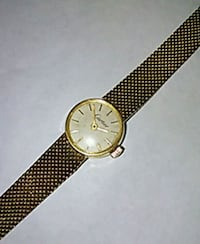 18k gold ladies Carter watch lent 6 1/2 in Lauderhill, 33313