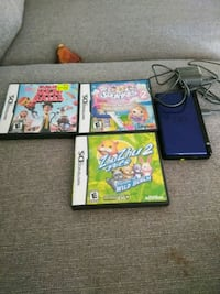 Blue ds lite plays game boy advance games as well  Edmonton, T5T 3S7