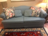 """Sleeper sofa from Stearns and Foster excellent condition. Mattress is 52"""" x 72"""". Pick up in Leesburg"""