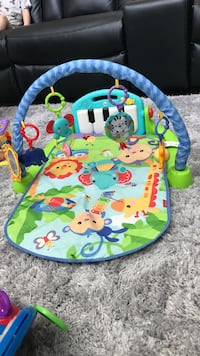 baby's multicolored activity gym Coquitlam, V3E