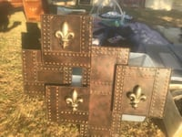 Copper and black wall decor pick up only please  Oxnard, 93030