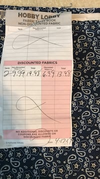 Fabric (sewing and quilting) Charlotte, 28277