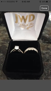 White Gold Diamond Wedding Rings Innisfil