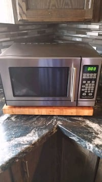 stainless steel and black microwave oven Edmonton, T5C 1V6
