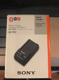 Sony Battery Charger BC-TRV (NEW) AUSTIN