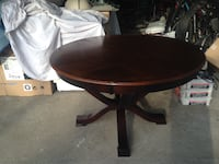 Round Wooden Dining Table and 4 Chairs Toronto