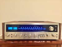 Vintage Pioneer SX-828 AM/FM Stereo Receiver Silver Spring