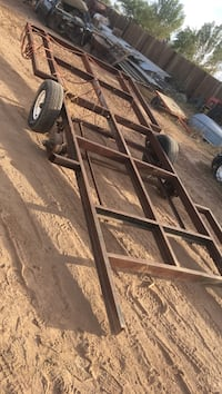brown steel deck over trailer San Tan Valley, 85143