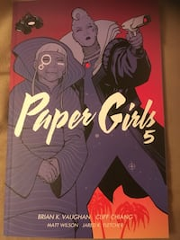Paper Girls Graphic Novel