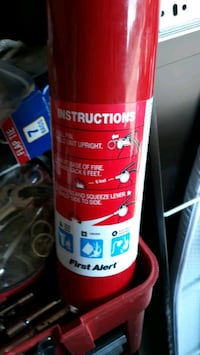 this fire extinguisher is new and full Tulsa, 74112