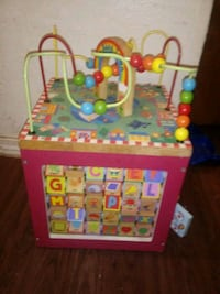 Large wooden activity playset Moore, 73160