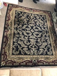 Brown and white floral area rug San Jose, 95113