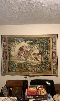 Giant wall tapestry: Bacchus