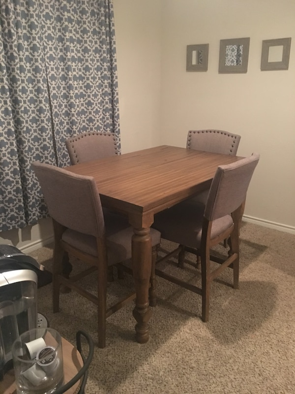 Used Tanshire Counter Height Dining Room Table By Ashley Furniture