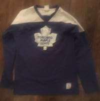 Maple Leaf long sleeve for 8-10 year old. $5 Toronto, M4S 2M6