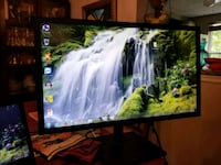 black flat screen computer monitor Germantown