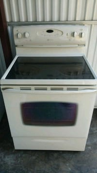 white and black induction range oven Kent, 98032