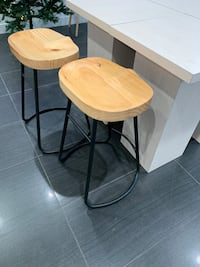 Contemporary Wood stool for one