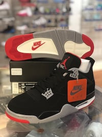 Brand new Bred 4s size 13 Silver Spring, 20902