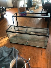 55 Gallon Tank and Steal Frame