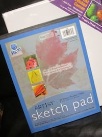 Artist Gift Set - Sketch Pad & Canvas -  Maryville