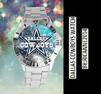 Dallas Cowboys Photo Custom Stainless Steel Analogue Men Or Women Unisex Watch Best Gift Westminster