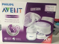White philips avent breast pump box Innisfil, L9S 0C6