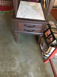 Set of solid wood end tables  Virginia Beach, 23455