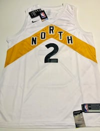 Raptors jersey white and gold Pickering, L1V 1S4