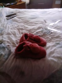 pair of red slip-on shoes St Helens, WA9 5UY